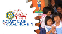 Weihnachtsparty des Rotary-Clubs of Royal Hua Hin