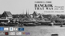 "Fotoausstellung: ​""Bangkok That Was"""