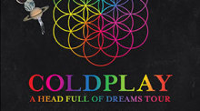 Coldplay live in Bangkok