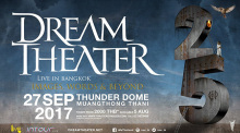 Dream Theater live in Bangkok