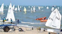 Segelregatta in Cha-am