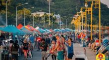 Walking Street in Prachuap Khiri Khan