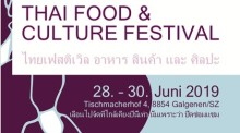 Thai Food & Culture Festival Galgenen (CH)