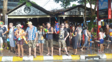 Songkran-Party in den Pit-Bull-Bars