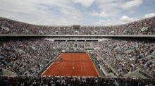 Tennis-Turnier French Open. Archivfoto: epa/YOAN VALAT