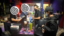 Razzia in einem Pub in der Soi Regional Land 3 in Süd-Pattaya. Foto: Pattaya City Police