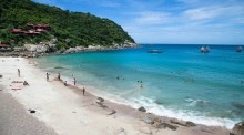 Tanote Beach auf Koh Tao. Foto: Tourism Authority of Thailand