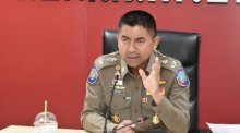 "Generalmajor Surachate Hakparn alias ""Big Joke"". Foto: The Nation"