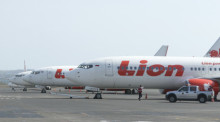 Maschinen der Thai Lion Air. Foto: epa/Made Nagi
