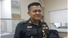 Isoc-Sprecher Generalmajor Pirawat Saengthong. Foto: The Nation