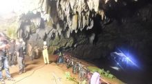 Eingang zur Höhle Tham Luang in der Provinz Chiang Rai. Foto: The Nation