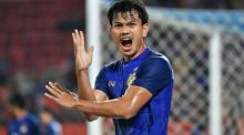 Thailands Fußball-Nationalspieler Adisak Kraisorn. Foto: The Nation