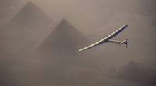 Foto: epa/Jean Revillard/solar Impulse 2
