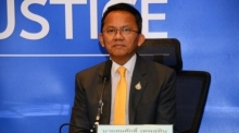 Thailands Justizminister Somsak Thepsuthin. Foto: The Nation