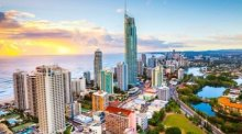 Skyline der australischen Stadt Gold Coast. Foto: The Nation