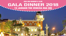 Gala-Dinner des Hua Hin Women's Club