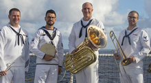 "U.S. Pacific Fleet ""Deep Six"" Brass Band"