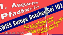 Pfadfinderparty beim Swiss Europe Butcher