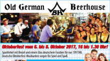 Oktoberfest im Old German Beerhouse