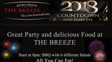 Silvesterbuffet im The Breeze Beergarden
