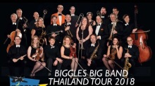 Biggles Big Band auf Thailandtournee