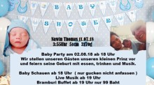 Baby-Party im Bramburi Restaurant