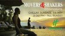 Movers & Shakers Chillax Sundaze
