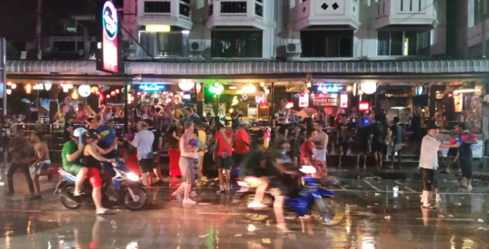 Songkran-Fest in Pattaya