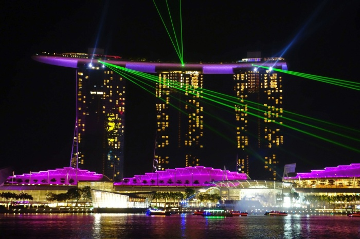 Luxushotel Marina Bay Sands in Singapur. Foto: Pixabay/forcal35