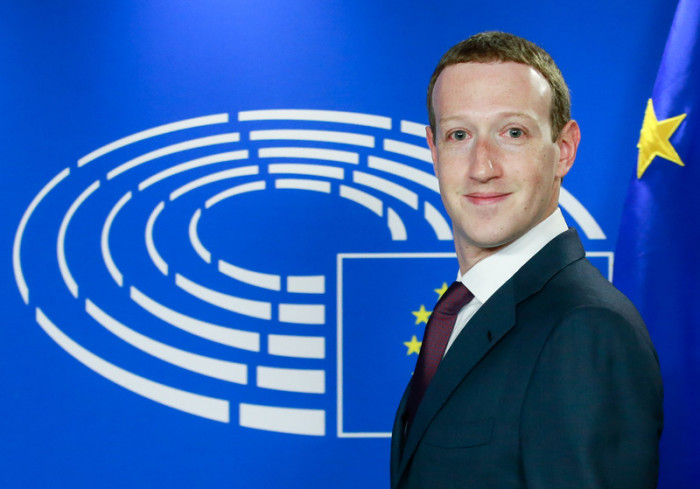 Facebook-Chef Mark Zuckerberg. Foto: epa/Stephanie Lecocq