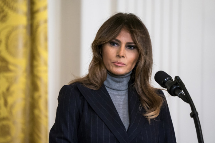 Melania Trump, First Lady der USA. Foto: epa/Jim Lo Scalzo