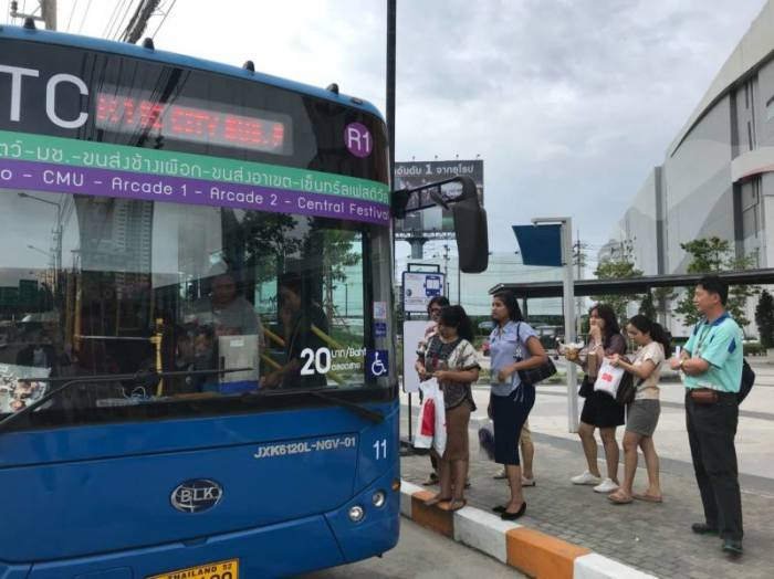 Foto: RTC Chiangmai Smart Bus
