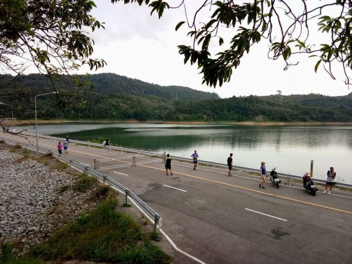 Archivaufnahme vom Wasserreservoir Bang Wad in Phuket. Foto: The Thaiger