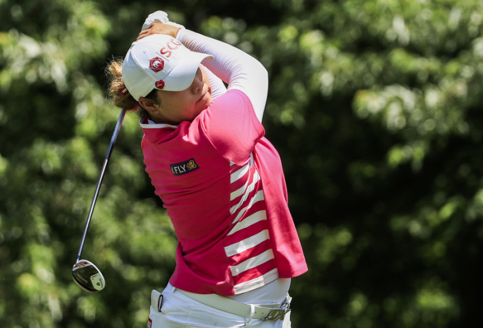 Thailands Golf-As Ariya Jutanugarn. Foto: epa/Tannen Maury
