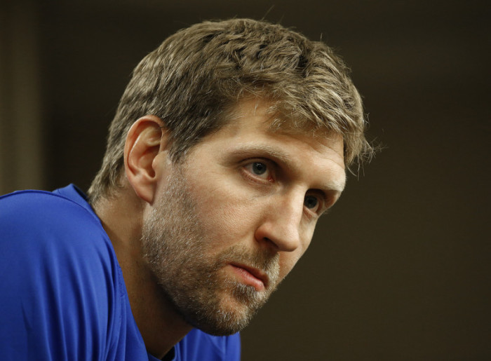 Basketball-Superstar Dirk Nowitzki. Foto: epa/Larry W. Smith