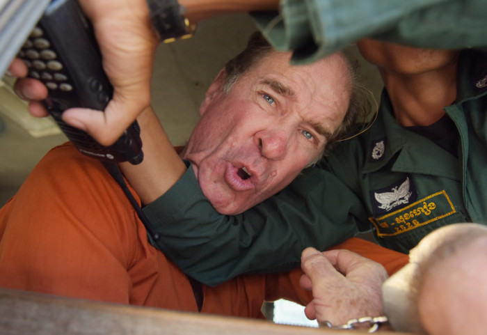 Australischer Filmemacher James Ricketson. Archivbild: epa/Stringer