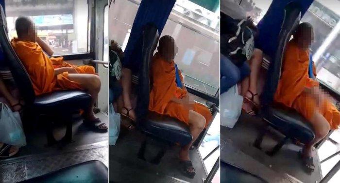 Masturbieren Im Bus