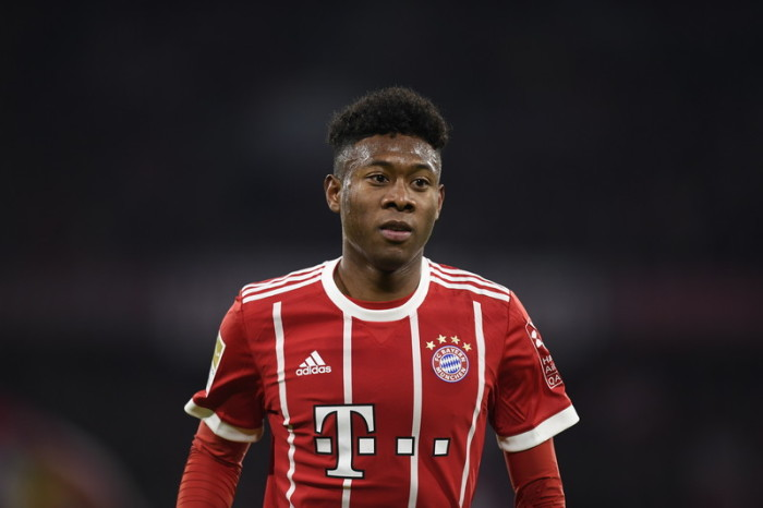 Bayerns David Alaba. Foto: epa/Daniel Kopatsch