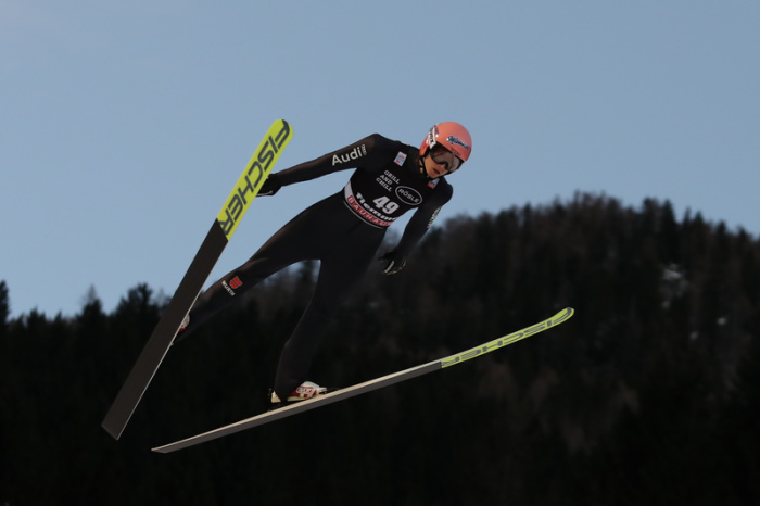 Ski nordisch/Skispringen: Weltcup, Normalschanze, Herren. Karl Geiger Aus Deutschland In Aktion. Foto: Espa Photo Agency/CSM via ZUMA Wire/dpa