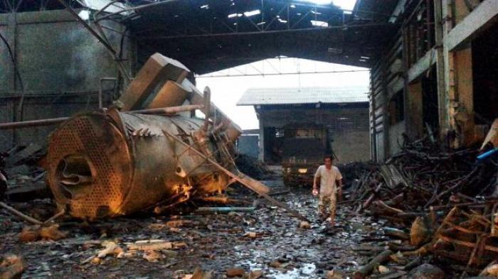 Dampfkessel explodiert: 22 Arbeiter verletzt