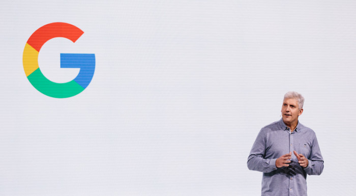 Googles Hardware-Division-Chef Rick Osterloh. Foto: epa/Alba Vigaray