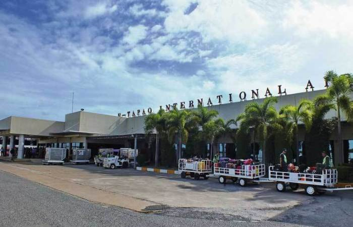 Terminal des U-Tapao Rayong-Pattaya International Airport. Foto: National News Bureau Of Thailand