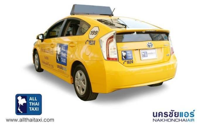 All Thai Taxi Nimmt Betrieb Auf Thailand Bangkok