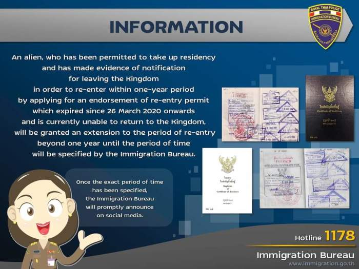 Foto: Royal Thai Immigration