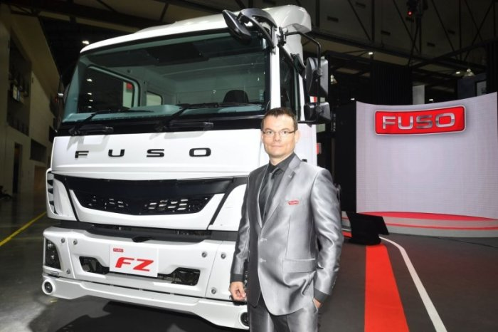 Sascha Ricanek, Lokaler Generaldirektor der Daimler Commercial Vehicle Thailand Ltd. Foto. The Nation