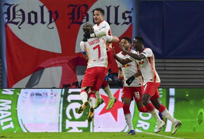 Leipzig im Achtelfinale: RB gewinnt gegen Manchester United