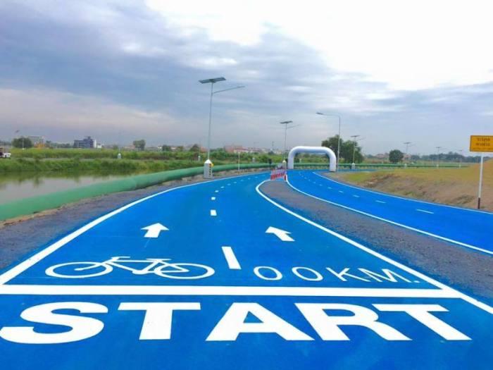 Sky Lane Ab Samstag F 252 R Radfahrer Ge 246 Ffnet Thailand