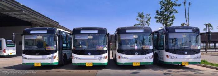 Foto: Khon Kaen City Bus