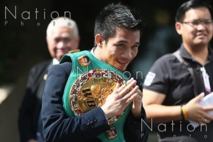 Srisaket Sor Rungvisai. Archivbild: The Nation