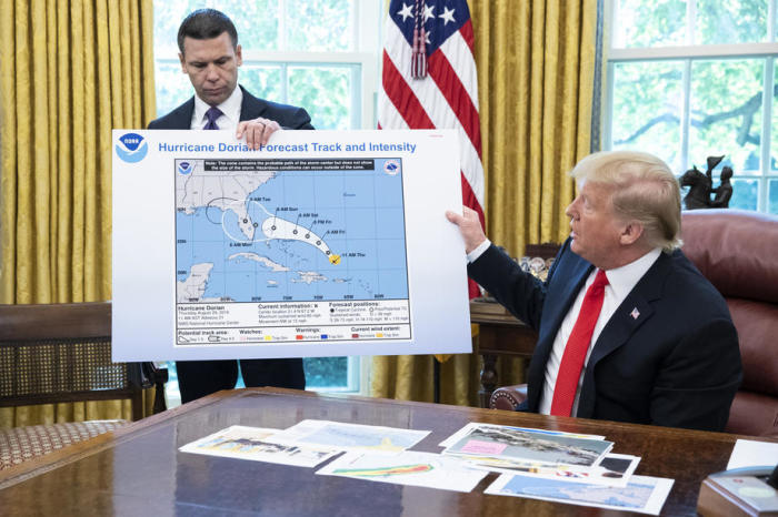 Trump Hurrikan